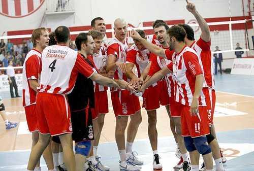 olympiakos wins second final