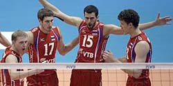 Russia and Brazil are World League finalists