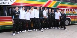 Argentina Men´s team arrived to France