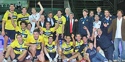 Boca-Río Uruguay is the champion of the ACLAV Cup