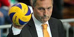 Head coach Igor Prielozny left Jastrzebie