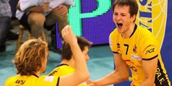 Polish Cup for Skra, Mariusz Wlazly MVP