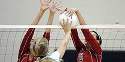 Volleyball exercise: Extra spike