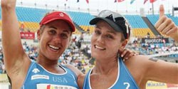 Beach Volleyball: Kessy and Ross back to defend title