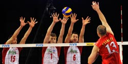 USA and Poland share points while Brazil remains on top