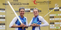 Kessy and Ross claim Stavanger gold