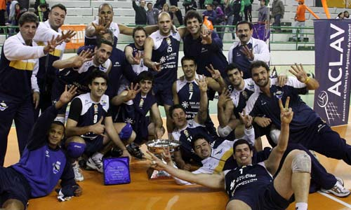UPCN Voley Club won the first cup in 2011/12 season