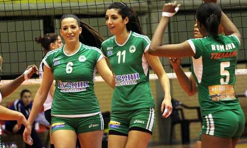 Women photos: Panathinaikos vs Iraklis 3-0
