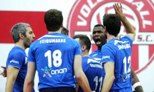 Iraklis alone on top after beating Olympiakos