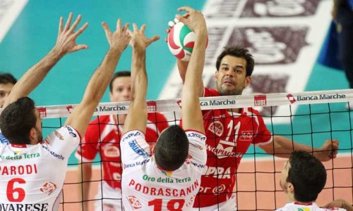 Loosing Macerata, Trento leads in classification