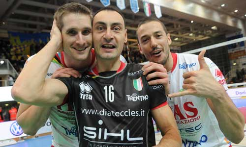 Volleyball photos: Amazing Trento in action