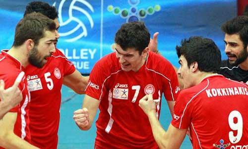 Volleyball photos: Olympiacos outclassed Panathinaikos