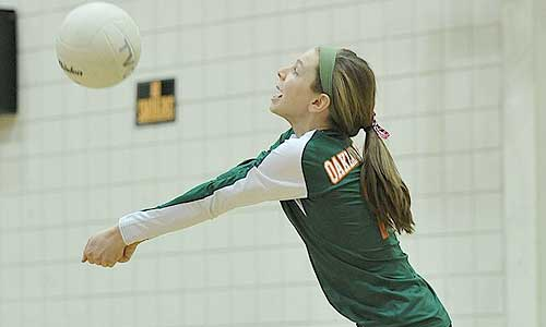 Volleyball drill: Getting the ball up