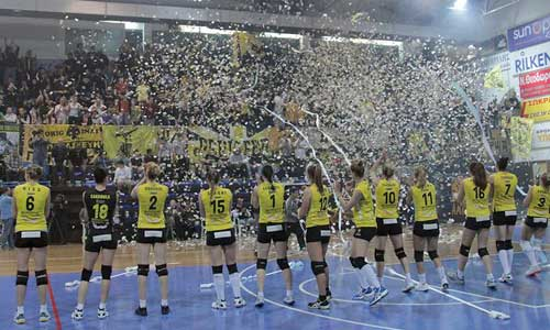 Women volleyball photos: AEK Won Greek Championship