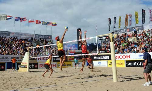 2015 Beach Volley World Champs in the Netherlands