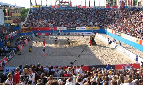 Beach volley news: World record attempt in Berlin