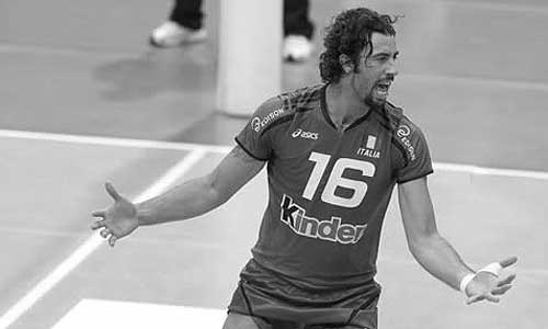 Vigor Bovolenta died during the match