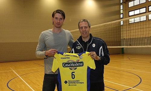 Lukasz Kadziewicz joined Casa Modena