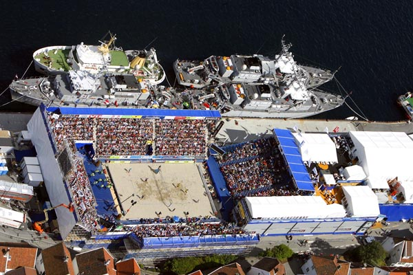 A wealth of beach volleyball destinations in 2014