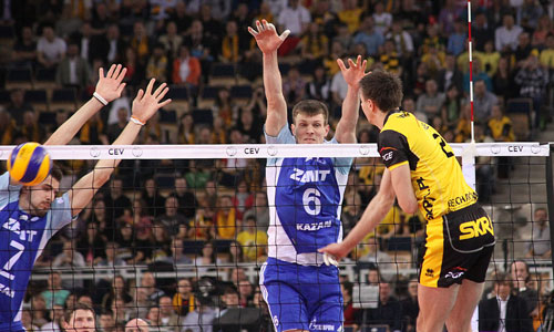 Wlazly, Apalikov, Mikhaylov the best in Champions League F4