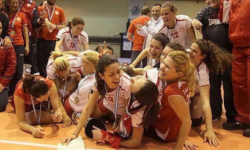 Women photos: Olympiacos Greek Cup Winner
