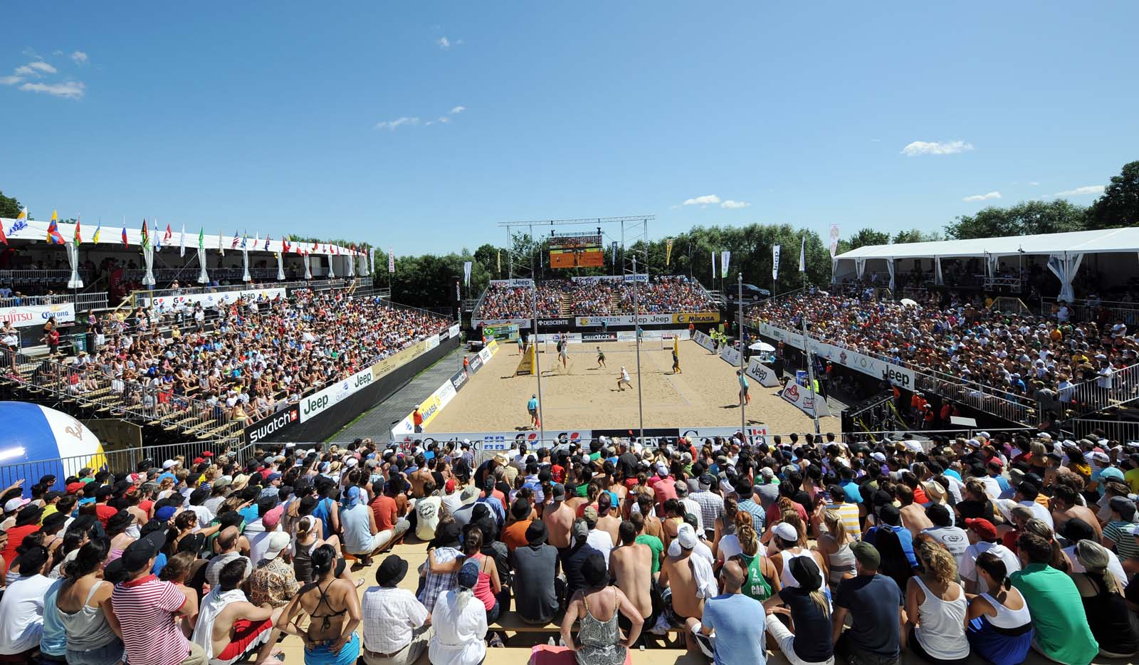 Beach Volley News: Quebec dropped from the calendar