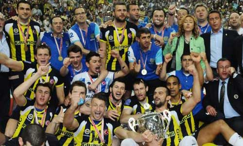 Fenerbahce took all Turkish cups!