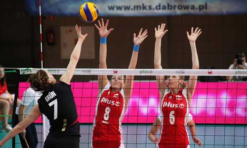 Photos: Women´s Poland vs Germany | VolleyCountry