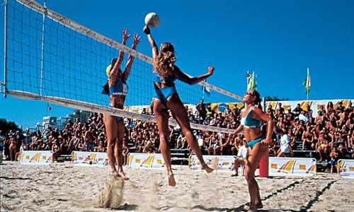 Famous beach tournament in Bellaria Igea