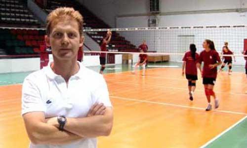 Gokhan Edman head coach of Turkey II