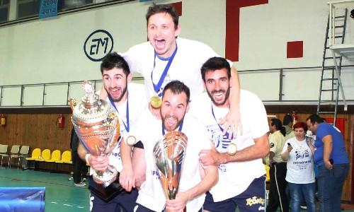 Iraklis Thessalonikis won the Greek Championship