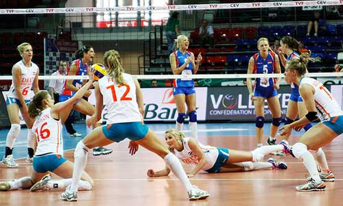 Women´s Day 2: Shock for Serbia and Russia