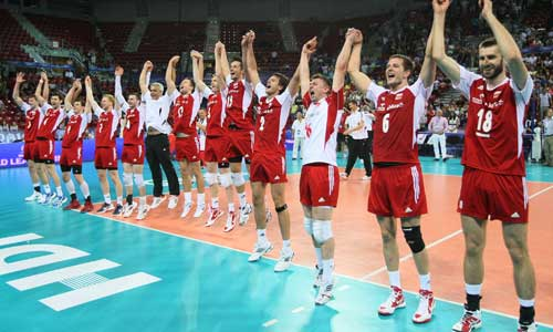 Poland won the World League 2012