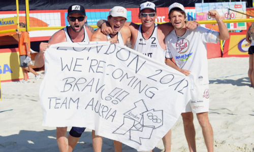Beach: Russia and Austria with the last Olympic tickets