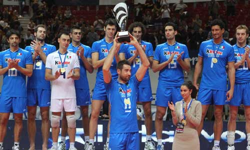 The latest FIVB ranking: Italy jumped to the third place