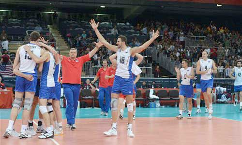 London 2012: USA felt the taste of failure. Serbia close to making a surprise