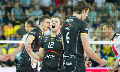 PGE Skra Belchatow raked up the Polish Supercup