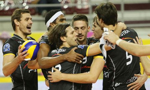 Champions League: Skra Belchatow defeated Arkas Izmir 3:1