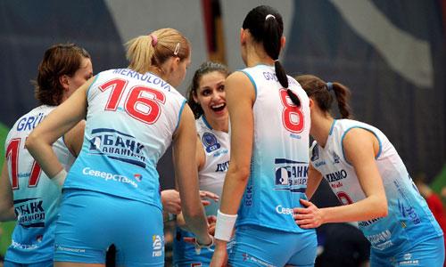 Women's Superleague: Dinamo Moscow beat Uralochka in four sets