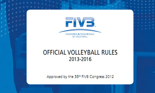 Download: Official Volleyball Rules 2013 -2016