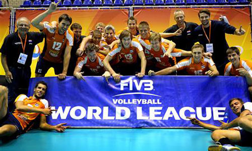 FIVB World League 2013 under a new rules