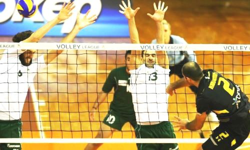 Five straight-set victories in Greek Volleyleague
