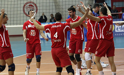 Challenge Cup: Olympiacos made a good start against Levski