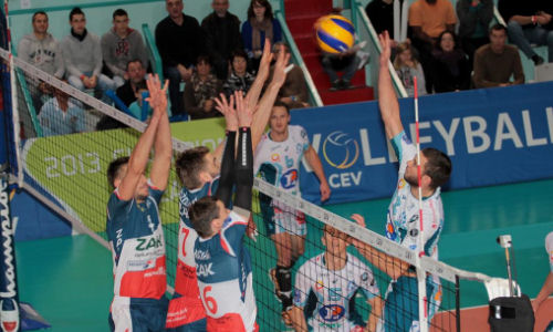 ChL: ZAKSA fought out a win and qualified to Playoffs 12