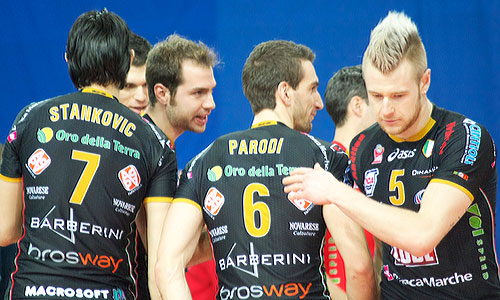 Photos: Zaytsev with Macerata in Play-off 6