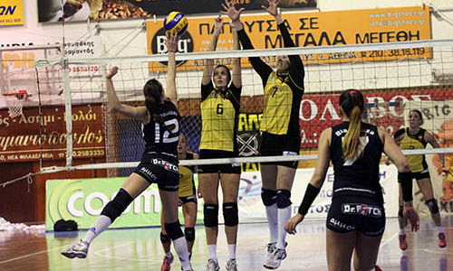 Women's Greek League:AEK and Olympiacos still on Top