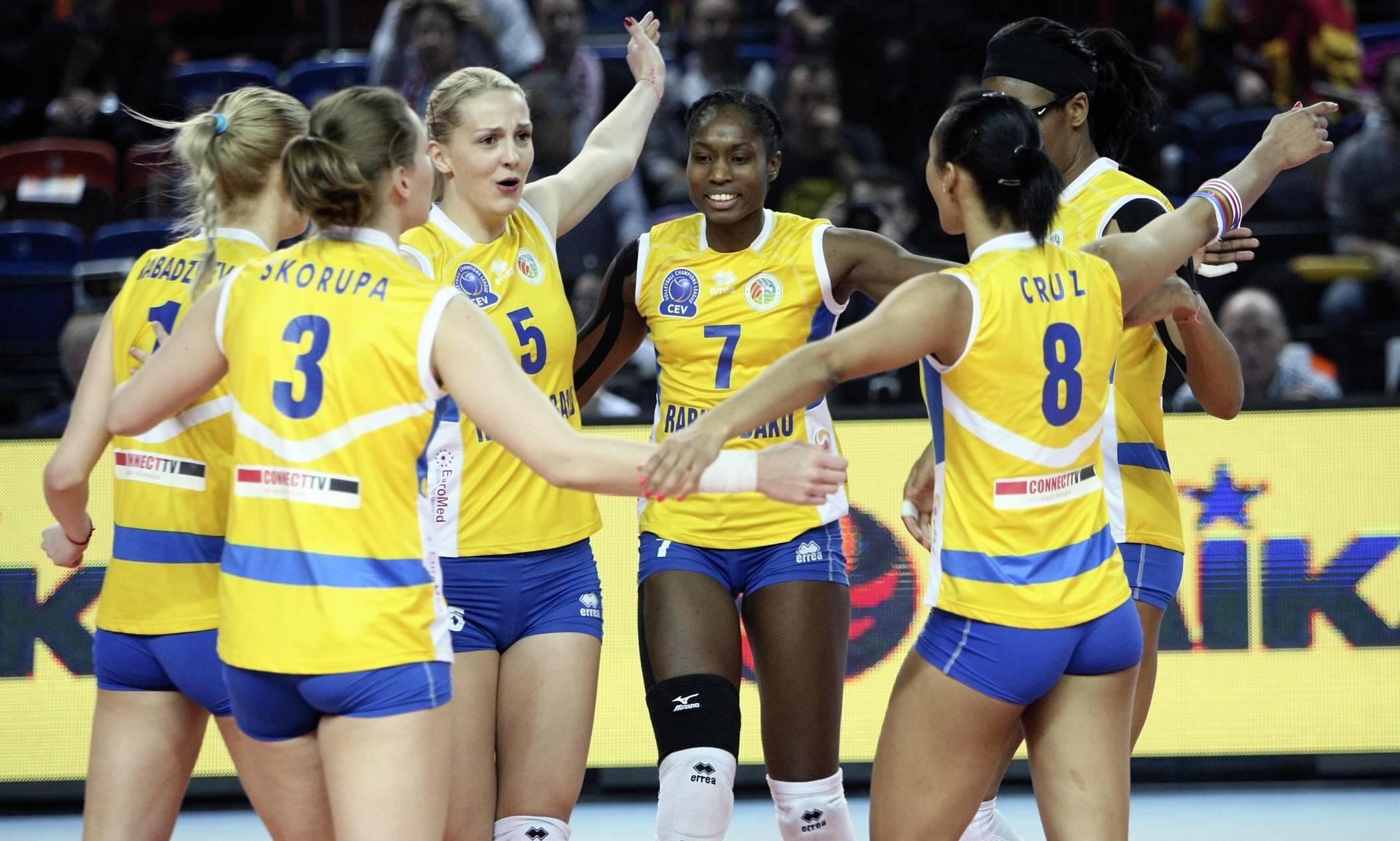Women's Final Four: Rabita Baku completed a first spot in final