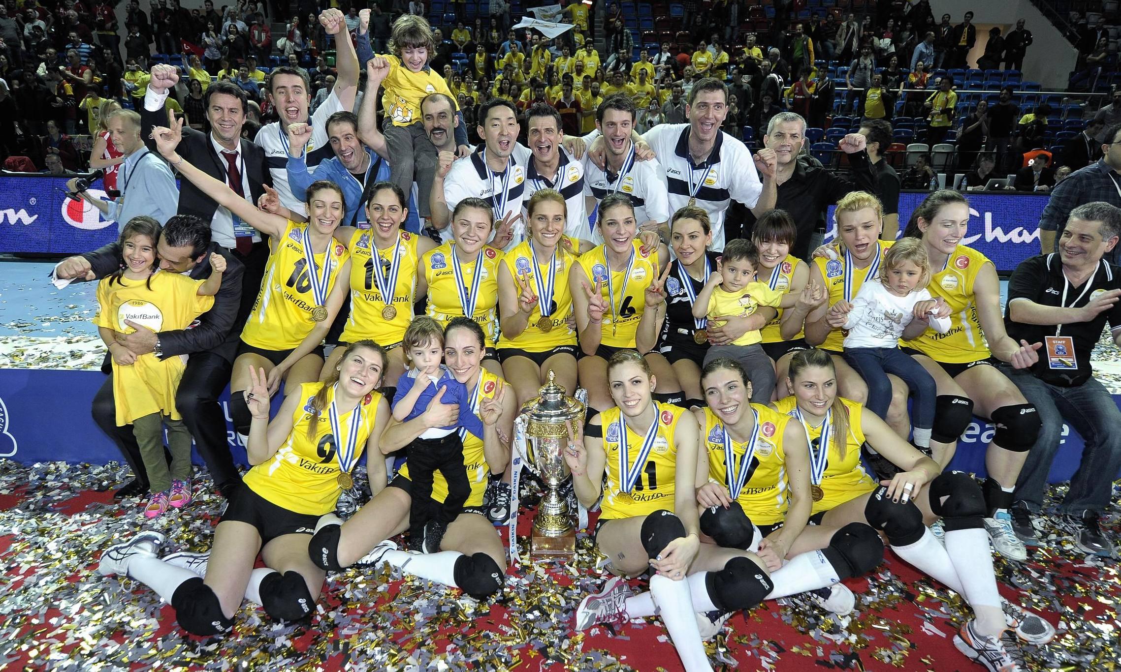 Women's Final Four: Vakifbank in glory again!
