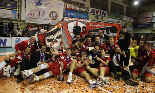 Second Cup for Olympiacos