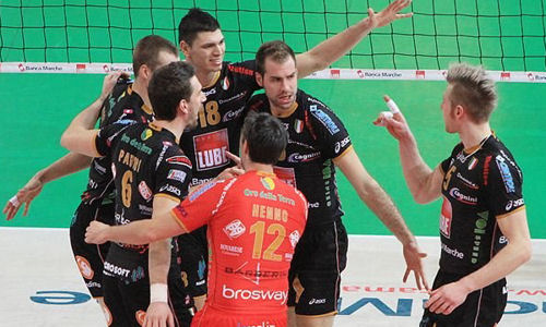 Serie A1: Match on top for Lube Macerata!